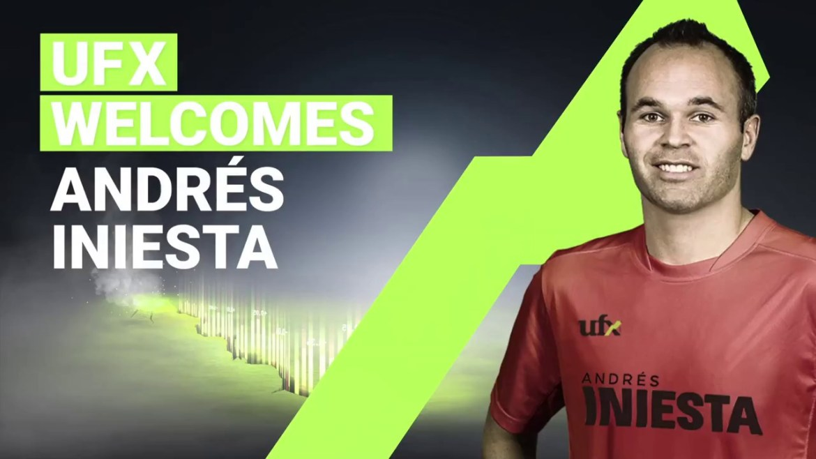 Andres Iniesta Brand Endorsements Brand Ambassador Sponsorship Partners Advertising TVC Spain Barcelona  UFX