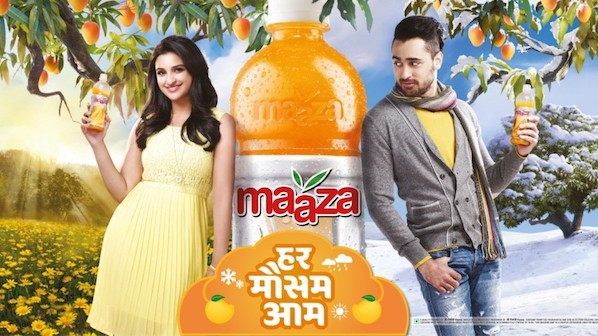 Parineeti Chopra Brand Endorsements Brand Ambassador Advertisements Promotions TVCS Ads Maaza