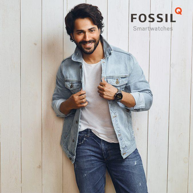 Varun Dhawan Brand Endorsements Ambassador Advertising Marketing Campaign TVC Advertisement Fossil watches