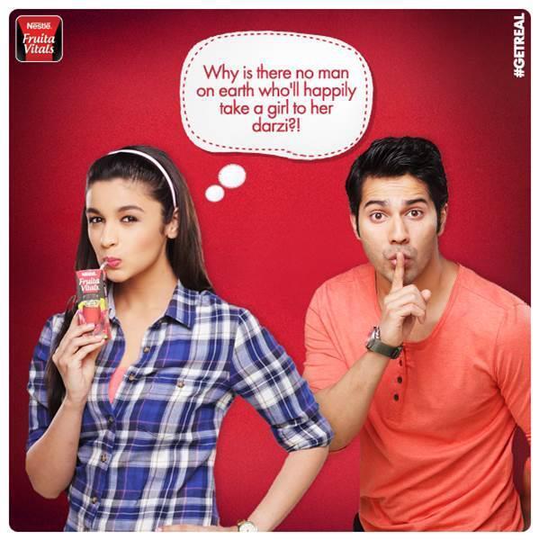 Varun Dhawan Brand Endorsements Ambassador Advertising Marketing Campaign TVC Advertisement Nestle Fruita Vitals