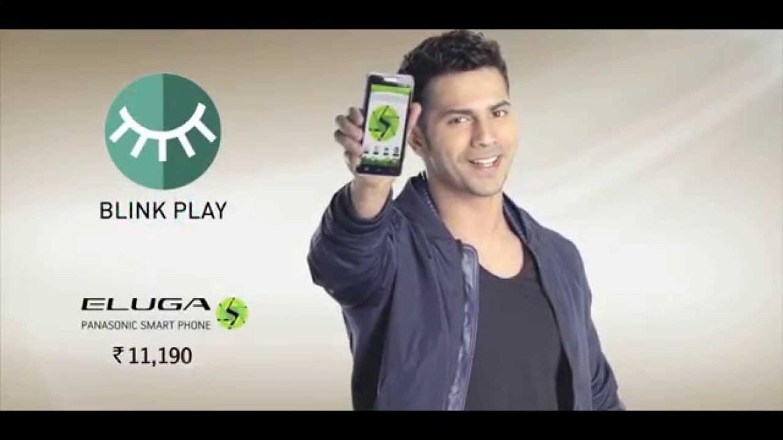 Varun Dhawan Brand Endorsements Ambassador Advertising Marketing Campaign TVC Advertisement Panasonic Eluga