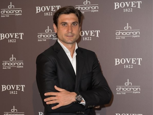 Wrist Watch Brands Endorsed Promoted advertised by tennis stars players David Ferrer – Bovet Fleurier