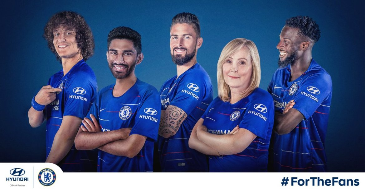 Chelsea Hyundai Shirt Sleeve Sponsor Logo Brand Premier League Football Clubs