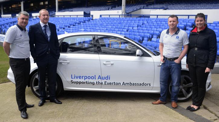 Everton Football Club Partners Sponsors Brand Associations Logos Advertising Audi Liverpool