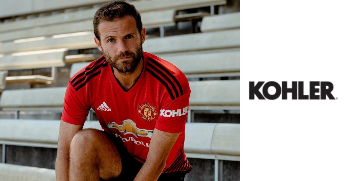 Kohler Becomes Manchester United S First Ever Shirt Sleeve Sponsor Sportskhabri