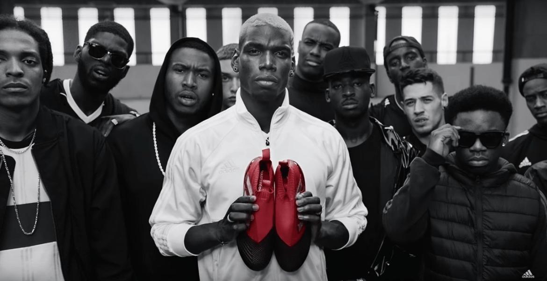 Paul Pogba Advertisement Sponsor Partner Deal TVC Commercial Endorsement Shoes