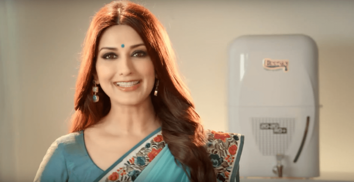 Sonali Bendre Brand Endorsements Ads Advertisements TVCs advertising commercials Essex Ro
