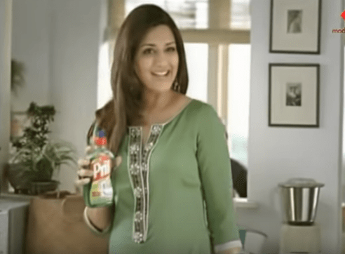 Sonali Bendre Brand Endorsements Ads Advertisements TVCs advertising commercials Pril Dish Soap