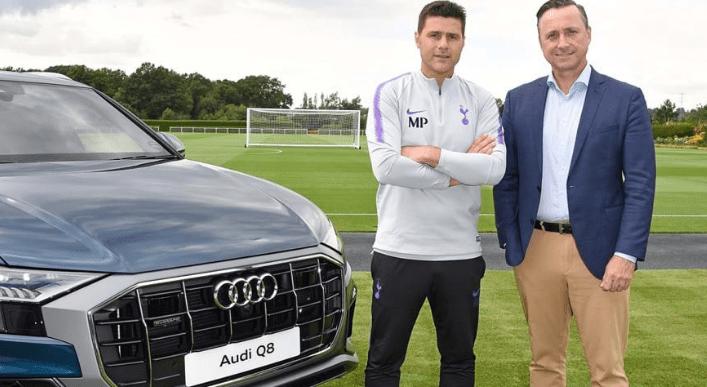 Tottenham Hotspurs Spurs Partners Sponsors Brand Associations Logos Advertising Investors Audi