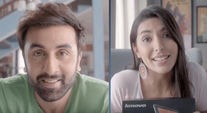 Ranbir Kapoor Brand Ambassador Brand Endorsements Advertisements Ads TVC Promotions Associations Ranbeer Lenovo mobiles and tablets