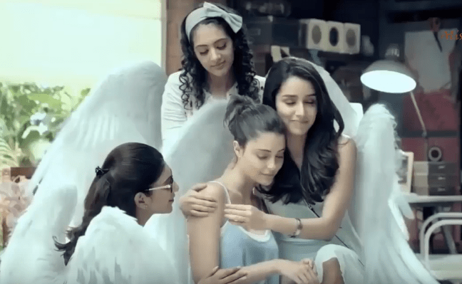 Shraddha Kapoor Brand Ambassador Brand Endorsements Promotions Advertisements TVCs Sponsors List She Care Sanitary Napkins