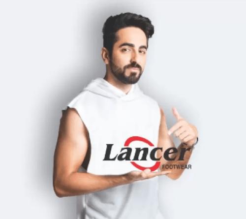 Ayushmann Khurrana brand endorsements brand ambassador list ads tvcs advertisements advertising actor model Lancer Footwear