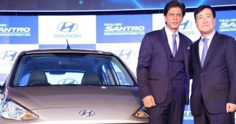 SRK Hyundai All New Santro