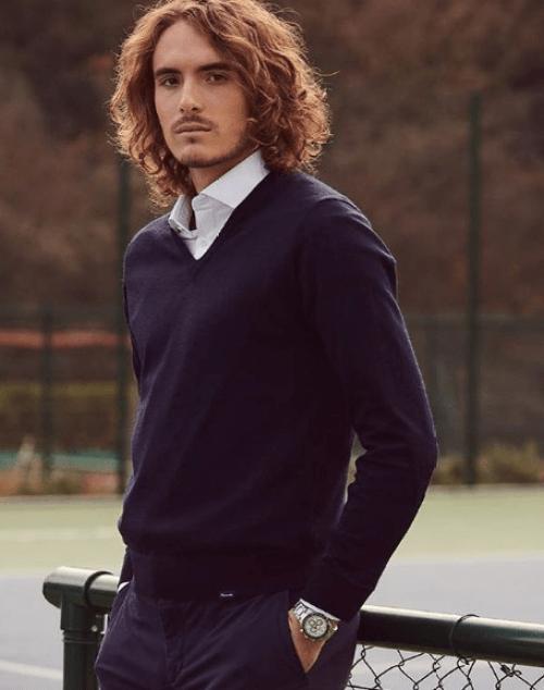 Stefanos Tsitsipas Brand Ambassador Endorsements Advertising List Commercials TVCs Sponsors Partners Brand Value Wilson Rolex