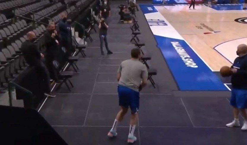 Дончиќ жонглираше, па погоди од позади кош 🎥