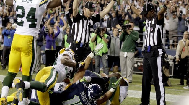touchdown seahawks packers