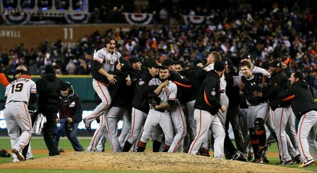 San Francisco Giants Series Mundiales 2012