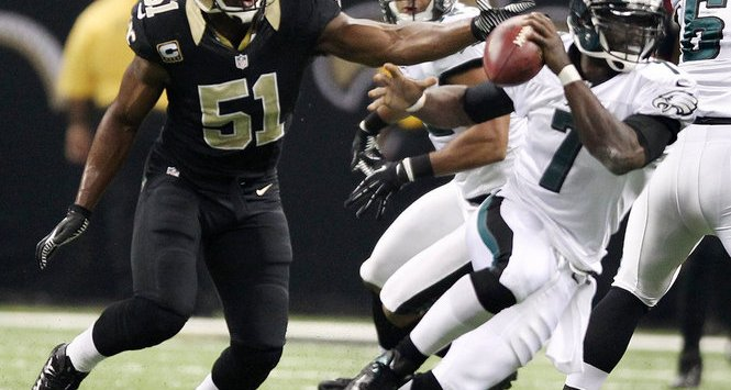 Michael Vick, Eagles, 4 de Noviembre, Saints