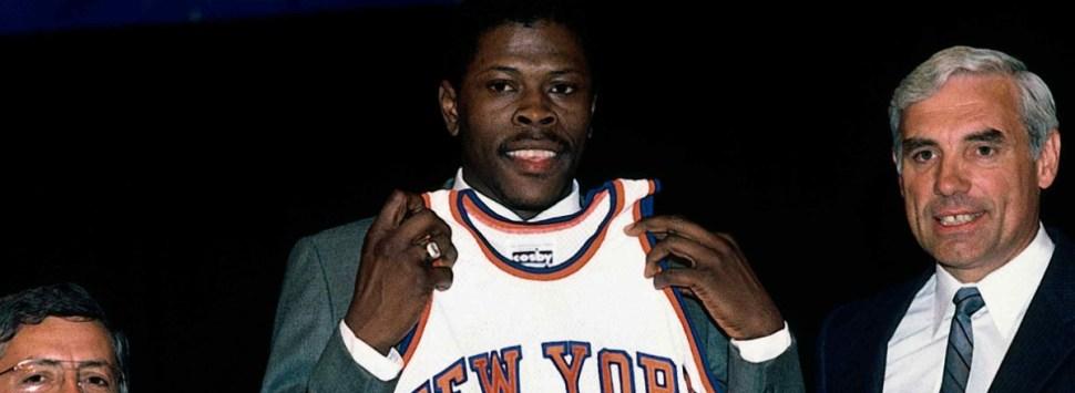 Pat Ewing draft 1985