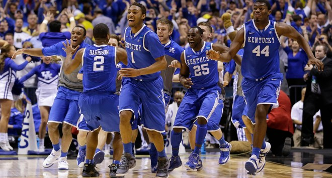 Kentucky March Madness 2014