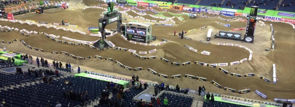 CenturyLink Field supercross