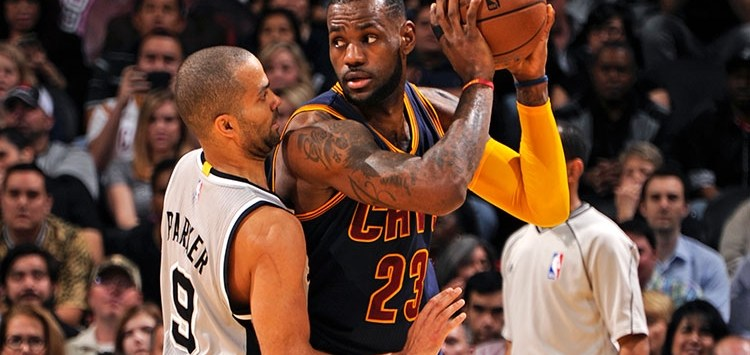 Cavaliers Spurs