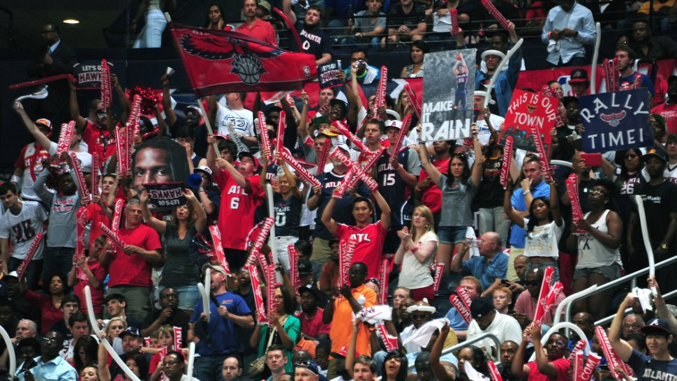Aficionados Atlanta Hawks
