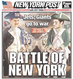 Portada del New York Post, 2011
