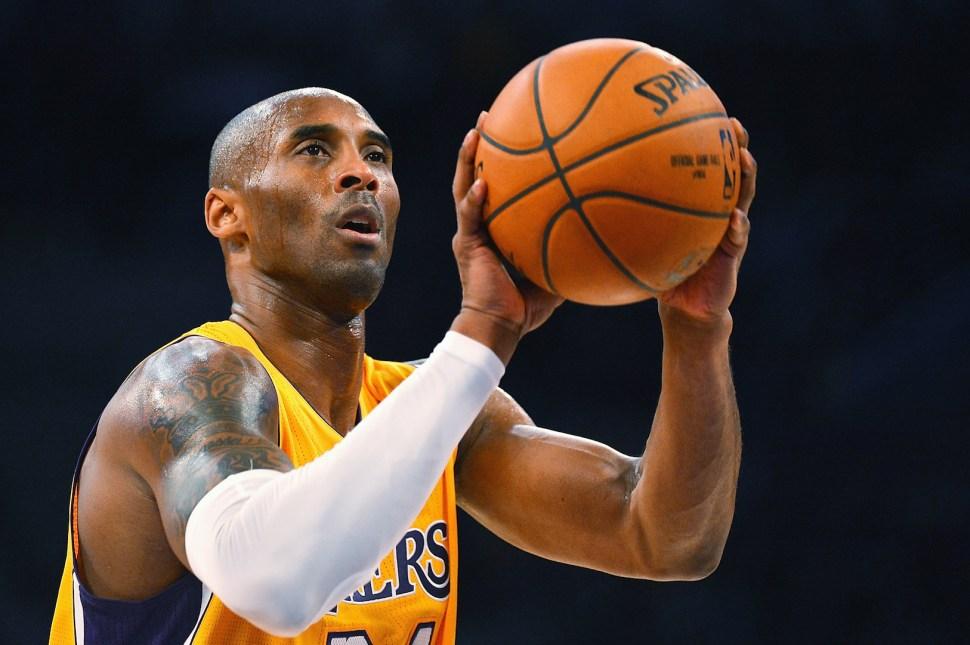 Kobe Bryant shot