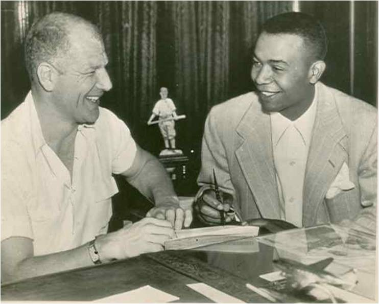 bill veeck y larry doby