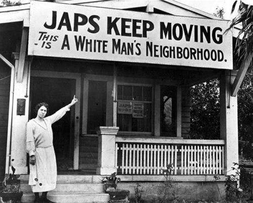 El racismo anti-japonés golpeó Estados Unidos tras Pearl Harbor.