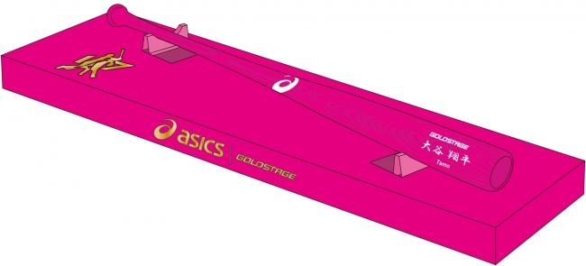 大谷翔平選手モデルのスパイクシューズとバットを限定発売