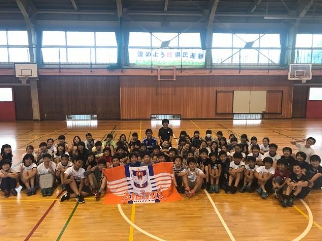 トップチーム選手がホームタウン新潟市・聖籠町の小学校を訪問!