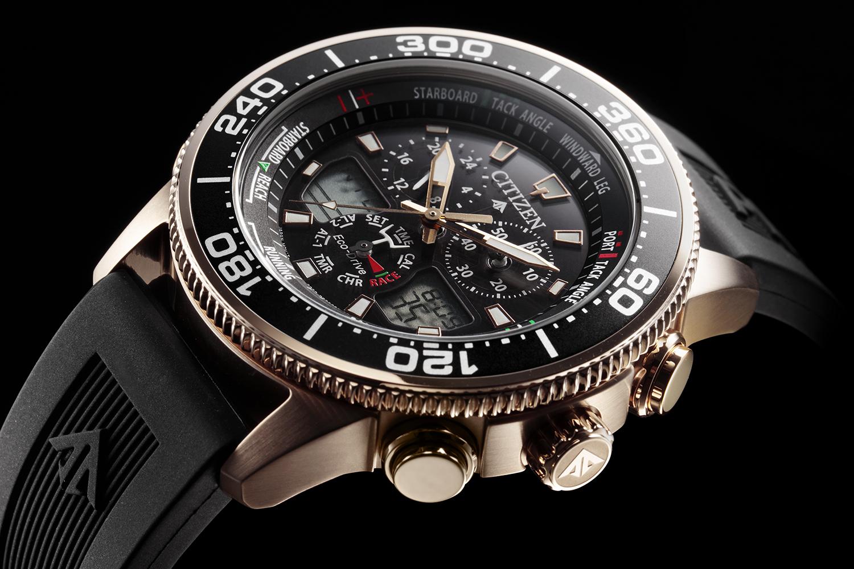 ヨットレースに特化した時計 『シチズン プロマスター』 エコ・ドライブ※1 ヨットタイマー  「セーリング男子470級」、磯崎・高柳組をサポート  2019年7月上旬発売