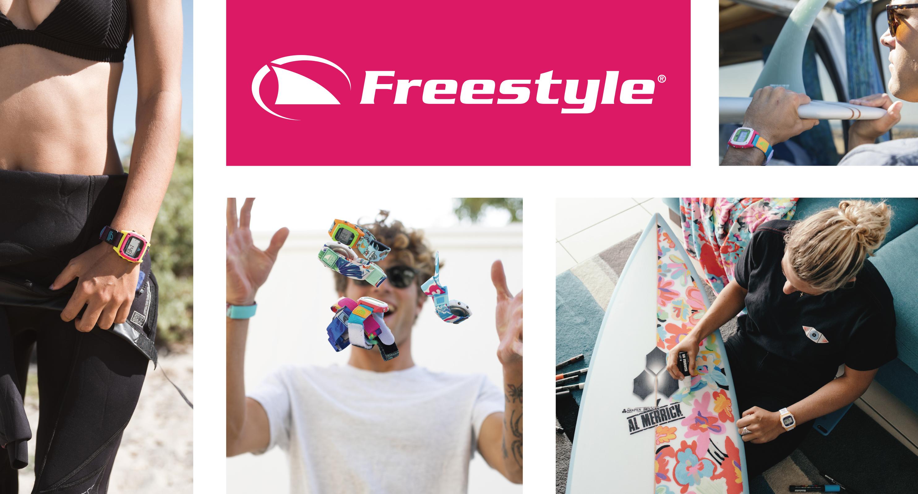 【Freestyle】伝説のサーファーズウォッチがリバイバル!! 人気モデル「SHARK」がさらに進化。 ムーブメント・デザインをリニューアルし新発売。