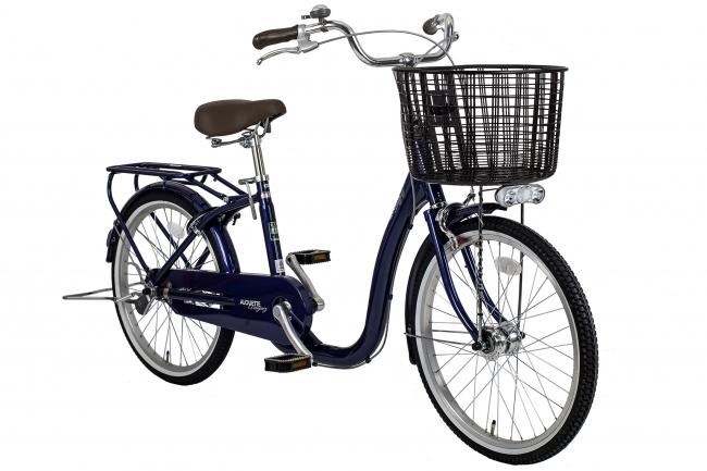 乗り降りしやすい超低床フレームを採用し幅広い年齢層のお客様に乗っていただきやすいユニバーサルデザイン自転車「アルエットL」7月中旬頃より販売開始
