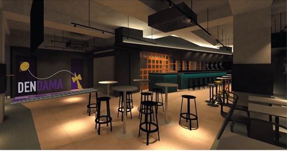 8月10日(土)けん玉・クラフトビール・ダーツが楽しめる最先端アミューズメントバー「DENDAMA&DARTS RE/D(リード)」渋谷にオープン!