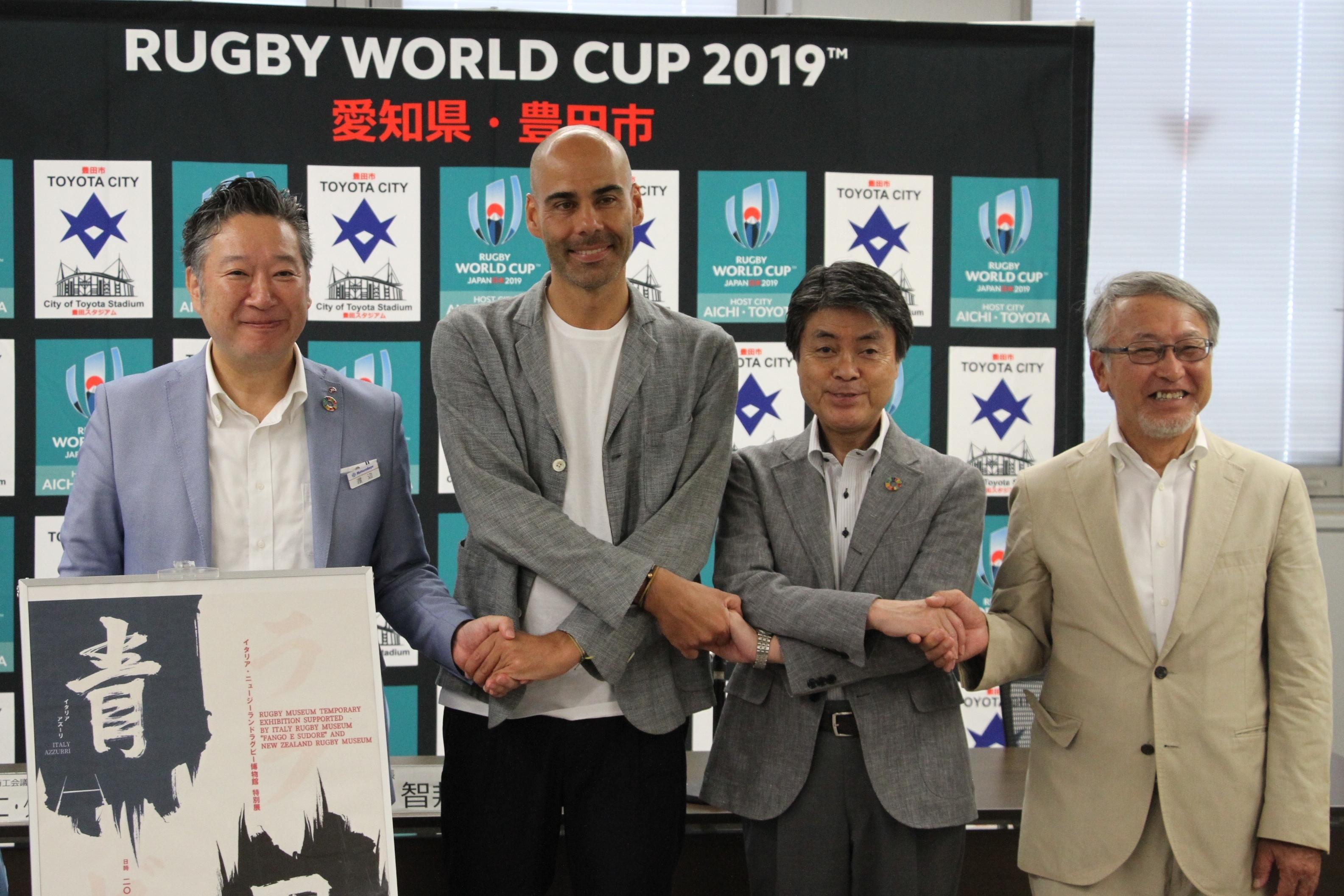イタリア・ニュージーランドラグビー博物館 特別展  松坂屋豊田店にて9月20日(金)から日本初開催!
