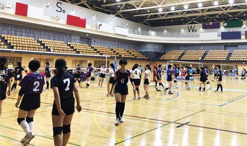 【部活フェス・京都】夏休みに亀岡運動公園体育館(京都)にてバレーボール大会を開催しました!