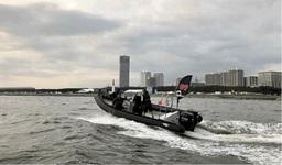 高速レスキューボート「ARD730」「レッドブル・エアレース千葉2019」に 救助艇として協賛