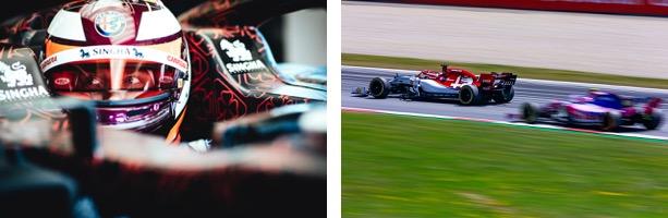 キミ・ライコネン、アントニオ・ジョヴィナッツィを擁した、Alfa Romeo Racingの熱い走りを一緒に応援