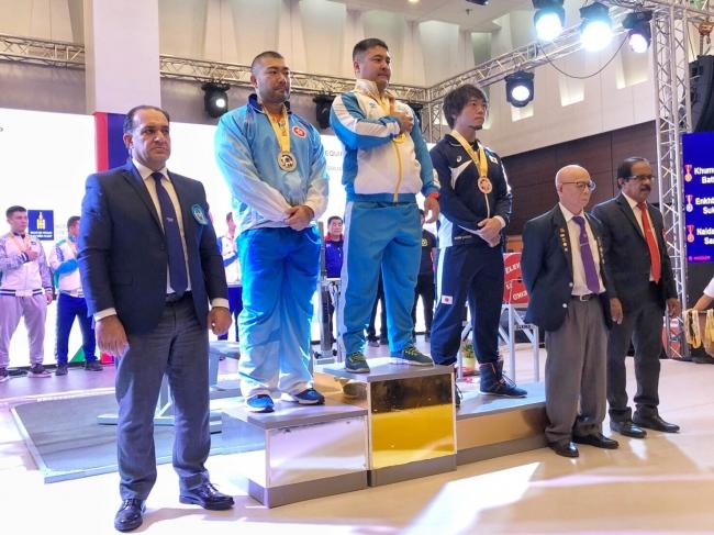 MARVELOUS所属 ベンチプレス日本代表【吉川望選手】が2019年 アジアベンチプレス選手権大会で銅メダルを獲得しました!