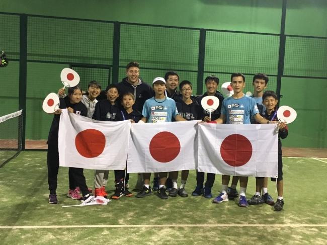 世界ジュニアパデル選手権にて、堂々の日本11位