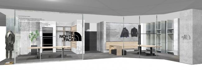 11月22日グランドオープンの渋谷PARCOに新店舗「THE NORTH FACE LAB」