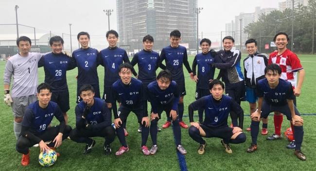 DYMサッカー部、ITサッカーリーグ惜しくも準優勝