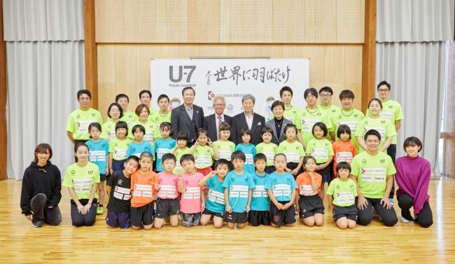 日本初U-7卓球選手 第二回特別強化合宿を実施