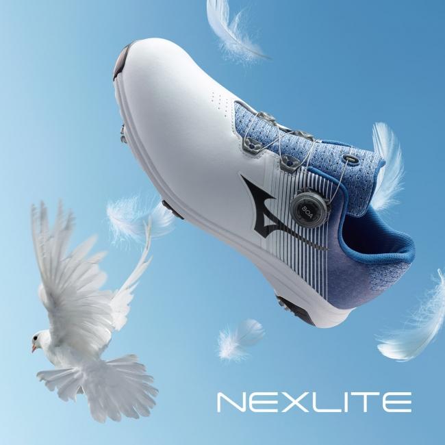 ミズノゴルフシューズ史上最軽量モデル「NEXLITE 007 Boa」発売