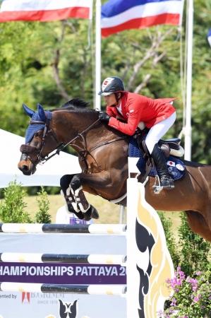 当社所属の馬術選手 杉谷 泰造が第1回FEIアジア選手権で金メダルを獲得