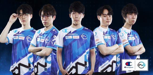 Champion  国内トップクラスのesportsチーム「DetonatioN Gaming」の新ユニフォームを発表!!