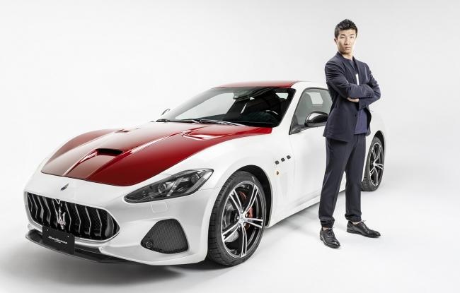走りへの情熱、あくなき挑戦 マセラティ ブランドアンバサダーに陸上競技・桐生祥秀氏が就任就任を祝って、世界に1台しかない特別限定車両を発表